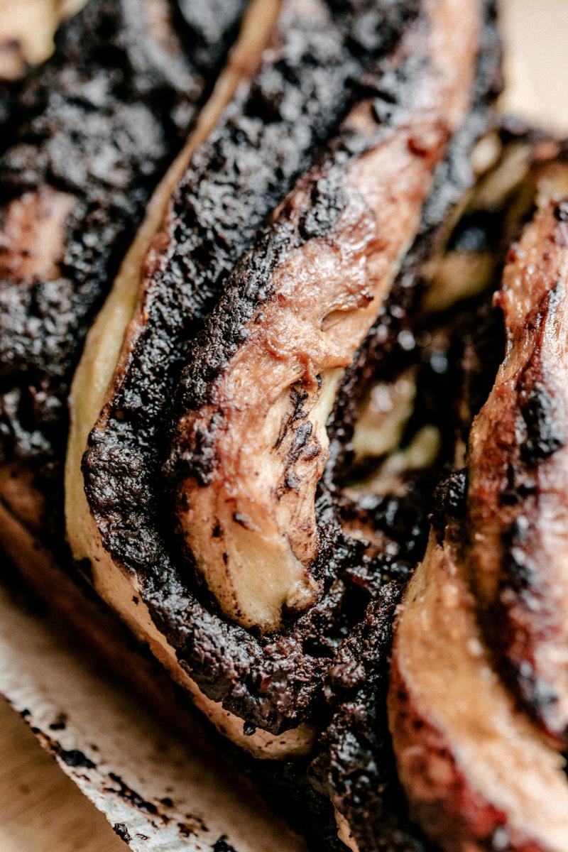 recette babka au chocolat maison facile et gourmande, possibilité de la réaliser sur place à l'atelier culinaire à Montréal