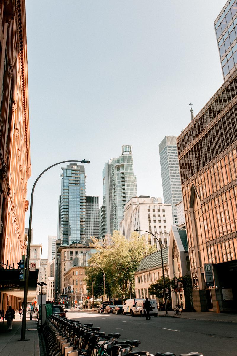 centre ville downton montréal