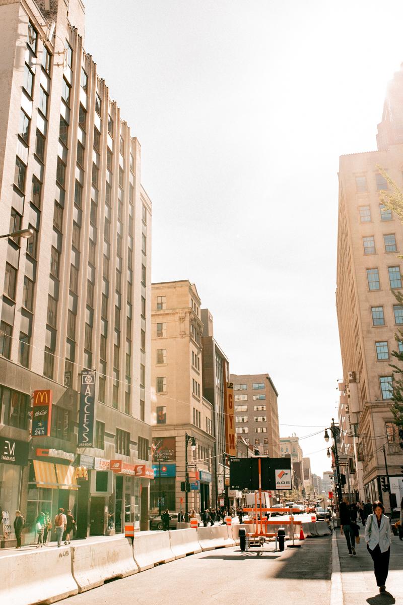 rue sainte catherine montréal