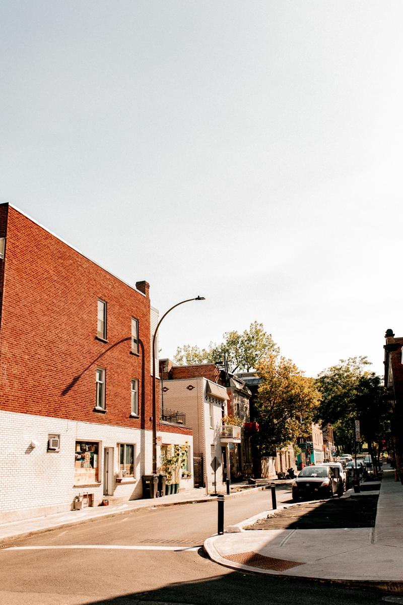 6 premiers mois à Montréal