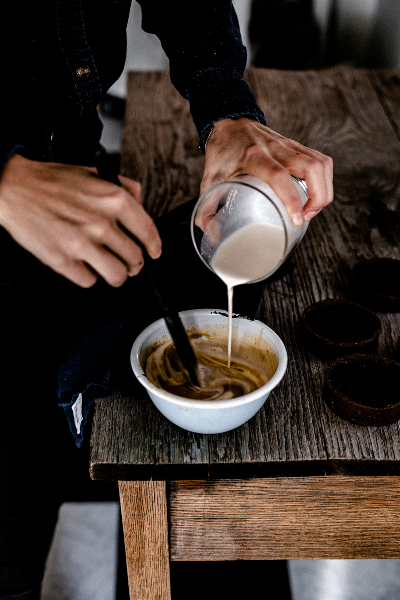 Entremet café et caramel Baileys mllecoton pâtisserie montréal