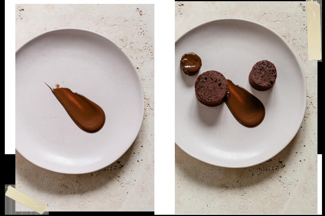 Cake à la betterave et chocolat noir Valrhona Caraïbe 66%. Un cake à la betterave ultra moelleux et bon pour la santé ! accompagnement betterave et chocolat