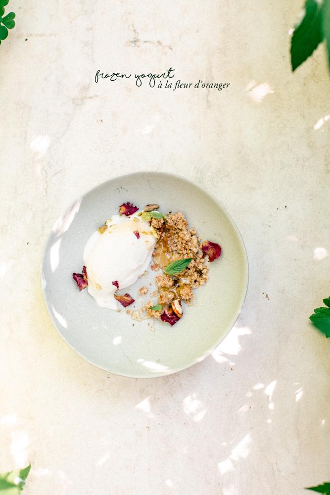 Recettes crème glacée onctueuse caramel et frozen yogurt maison, recette glace facile à l'aide d'une sorbetiere. glace caramel philippe conticini