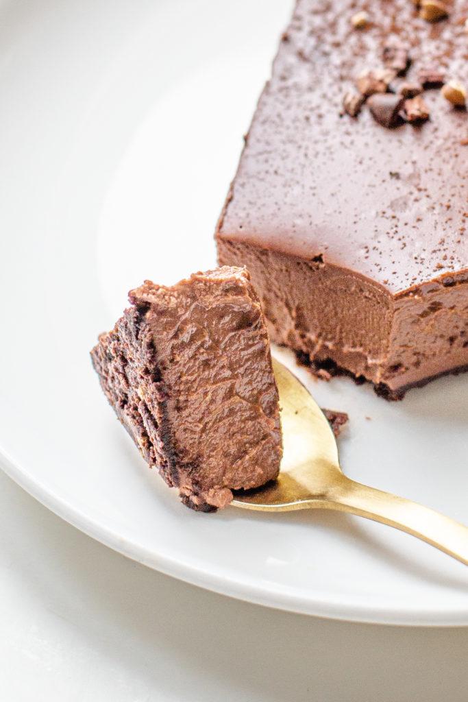 Tarte tout chocolat végétalienne végane
